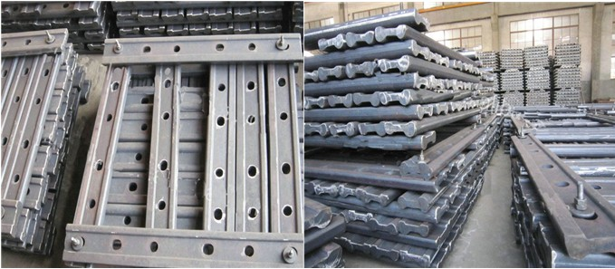 Germany Standard Rail Fishplates