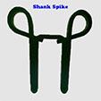 Double Shank Spike